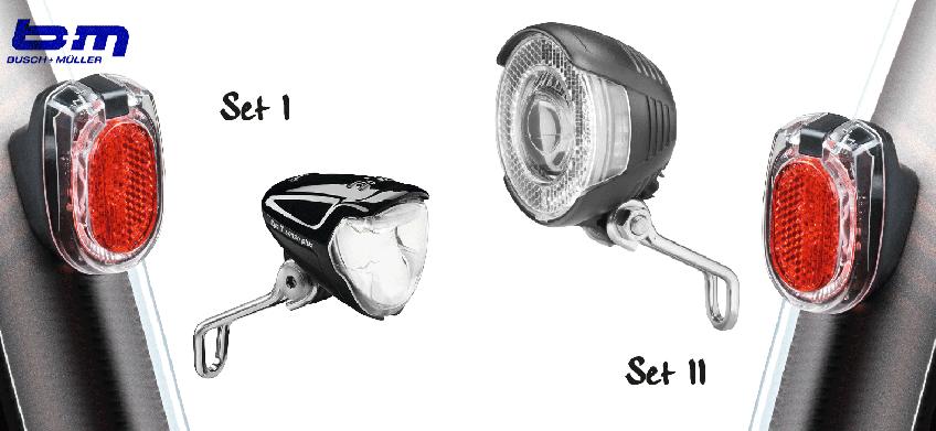 BULLITT Beleuchtungsset