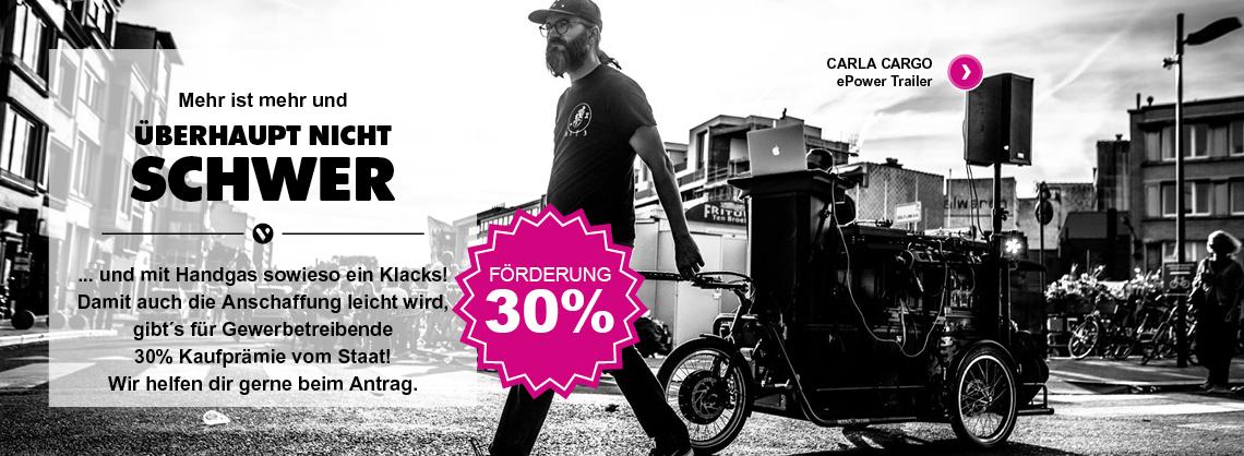 Carl Cargo e power trailer