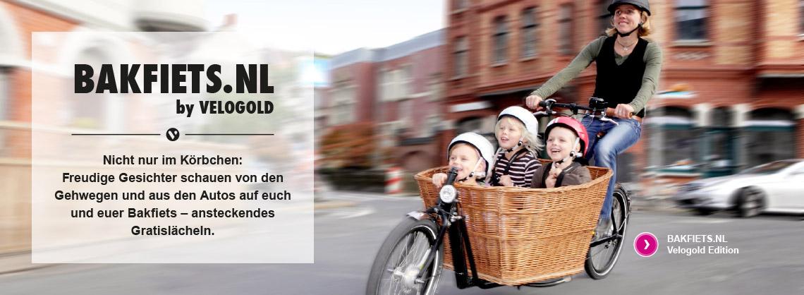 Kindertransport im Lastenfahrrad